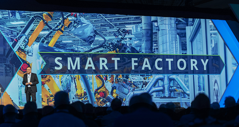 Smart Factory on the stage